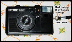 Black Hotshot 35 UF Camera - Vintage
