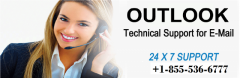 Outlook Support phone number 1-855-536-6777