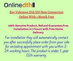 Videocon d2h New Connection | Offer and Price