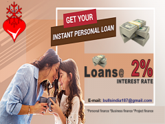 We give LOAN with 2% interest rate apply today for