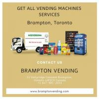 Looking for vending machines services in Brampton?