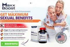Maxx Boosted pills reviews buy and update 2020