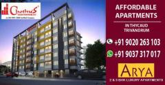 Chothys Builders ARYA Luxury Appartments Thycadu 9037317017