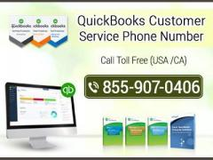 Dial QuickBooks Customer Service Phone Number 1-855-907-0406