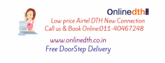 Airtel dth new connection price