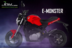 Joy E-Bike's Latest Electrifying E-Monster Bike In India