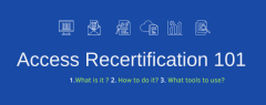 What is Access Recertification 101?
