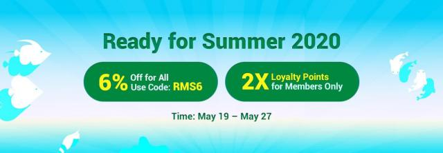 Get RSorder 2X Loyalty Points and Purchase 6% Off RS Gold