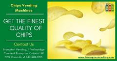 Get healthy chips products using chips vending machines
