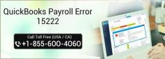 How to resolve QuickBooks Payroll Error 15222?