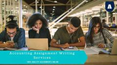 Hire Online Assignment Helpers - Accounting Assignment