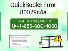 How to fix QuickBooks Error 80029c4a?
