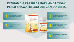 Herbal GlucoActive Obat Diabetes