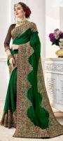 Party wear Embroidered Sarees Online
