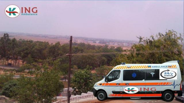 Hire Fast and Superior Ambulance in Koderma by King