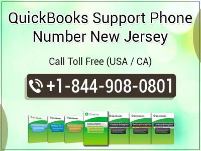 QuickBooks Support Phone Number New Jersey