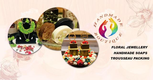 Floral jewellery Delhi - Hand Made Boutique