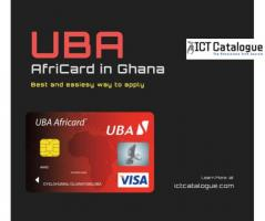 Get UBA AfriCard in Ghana without any hassle