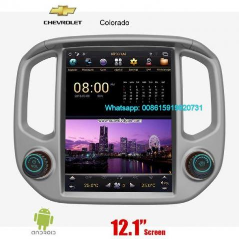 GMC Canyon Tesla Vertical IPS Android