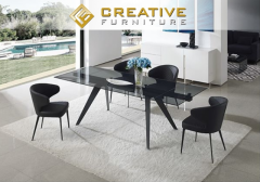 Livorno Extendable Modern Dining Table