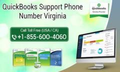 QuickBooks Support Phone Number Virginia 1-855-6OO-4O6O