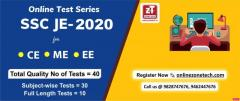 Best Online SSC-JE Test Series | ZoneTech