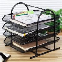 Shop Online A4 Document Tray 4 Tier Organiser at Rs. 699