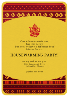 E-Housewarming Invitation Cards