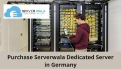Purchase Serverwala Dedicated Server in Germany