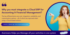 Feature rich Cloud ERP for financial industry