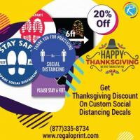20% Thanksgiving Discount On Custom Decals