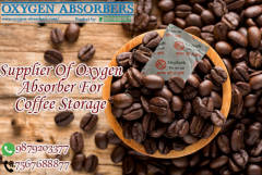 Oxygen absorber for coffee bean packaging
