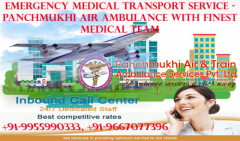 Hire Top Rank Air Ambulance in Patna with ICU Intensives