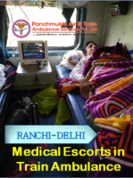 Low Fare and Swift Air Ambulance in Ranchi