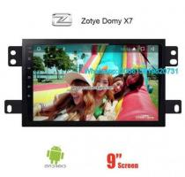 Zotye Domy X7 Audio Radio Car Android
