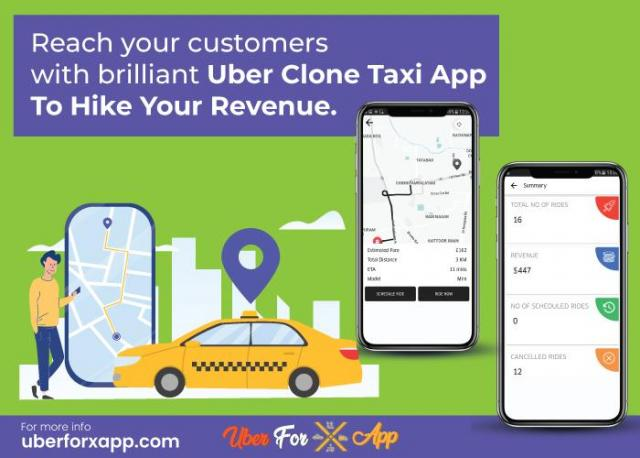 App like uber with referral options