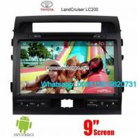 Toyota Land Cruiser Radio Audio Camera Android