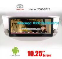 Toyota Harrier Radio Car Android wifi