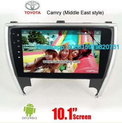 Toyota Camry Middle East Radio Car Android wifi GPS Camera