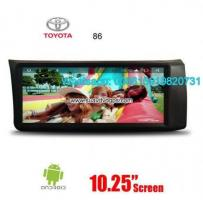 Toyota 86 Audio Radio Car Android wifi