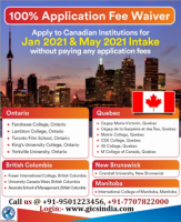 Applications open for May 2021 intake in Canada.
