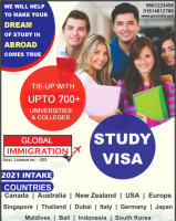 Apply  Canada Student Visa for upcoming 2021 intakes