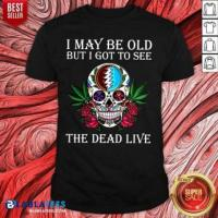 Official Great   To See The Dead Live Rose Shirt