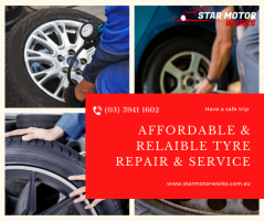 Quality Tyres Repair in Pakenham - Star Motorworks