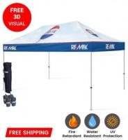 10x15 Custom Printed Pop Up Tents & Canopies unlimited