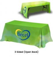 Custom Tablecloths and Table Covers for Trade Shows