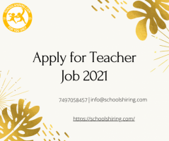 Apply for Teacher Job 2021