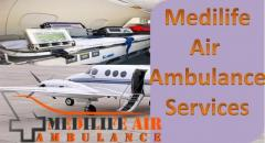 Medilife Air Ambulance in Kolkata Assures Patient Safety