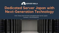 Dedicated Server Japan with Latest Generation Technology