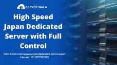 High Speed Japan Dedicated Server with Full Control